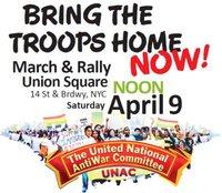 April 9, UNAC