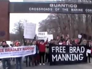 Quantico Protest