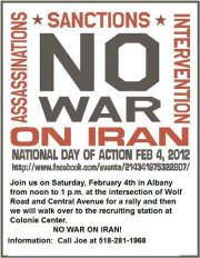 No War On Iran